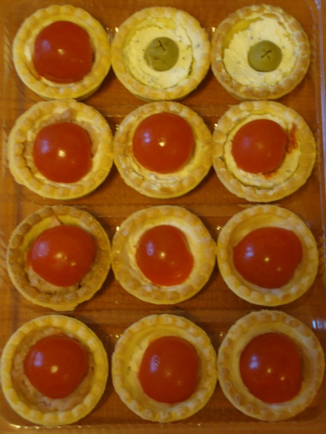 Mini-tarte sarate