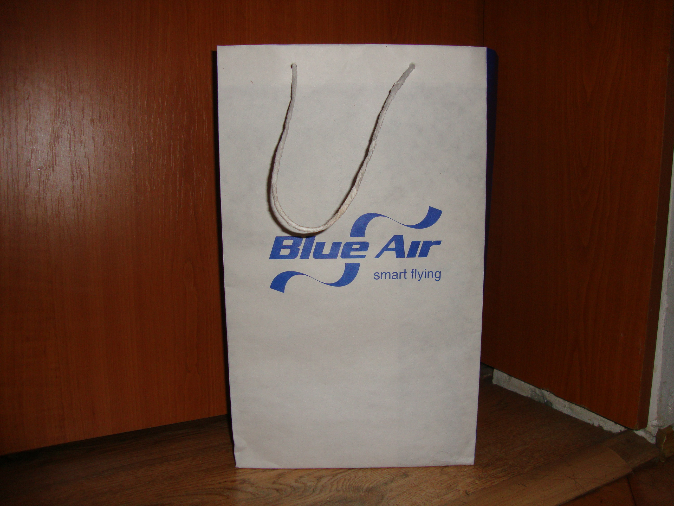 materiale promotionale blue air