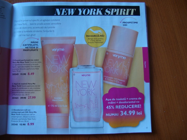 set cosmetice New York by Oriflame