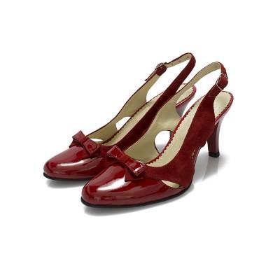 sandale-dama-piele-naturala-rosu