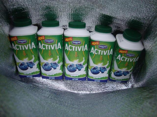 iaurt Activia cu afine