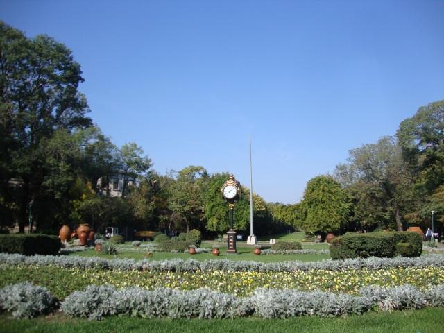 intrare parc cismigiu-entrance cismigiu park
