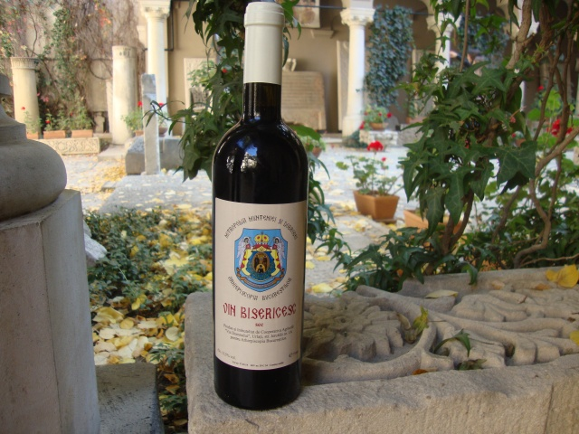 vin bisericesc-wine from the monastery