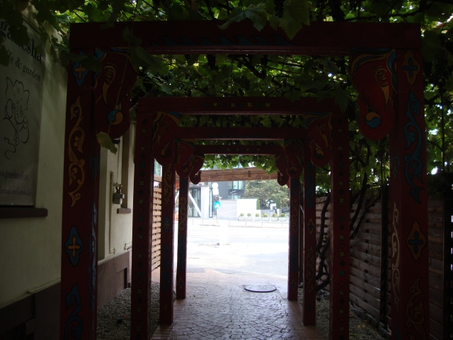 intrare cafe ganesha garden